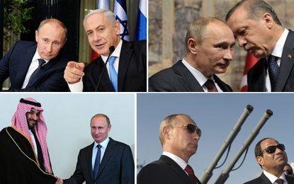 La Syrie, symbole du retour triomphant de la Russie au Moyen-Orient… et après ?