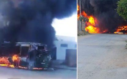 Tunisie : Un 3e bus prend feu en moins de 15 jours (vidéo)