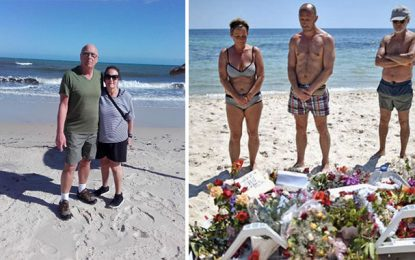 Sousse : Un couple de rescapés britanniques sur les lieux de l'attentat