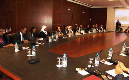 Réunion à l'Utica : Vers l'impulsion de la coopération tuniso-éthiopienne