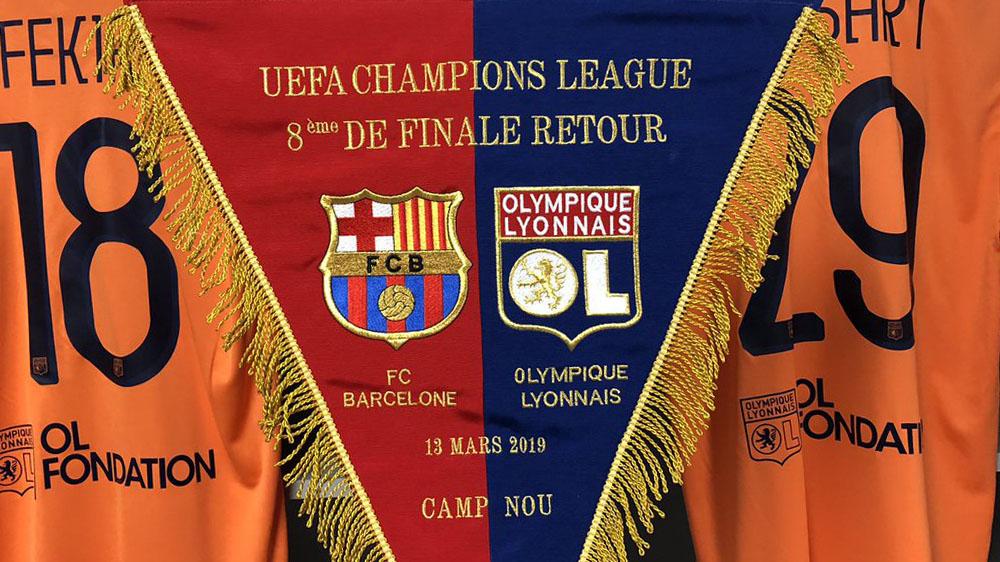 Lyon Barcelone Live Streaming Match Retour Ligue Des Champions Kapitalis