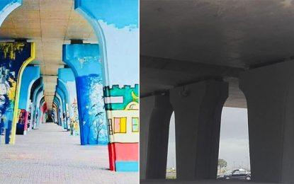 Tunis: Les piliers du Pont de la République seront repeints par des artistes