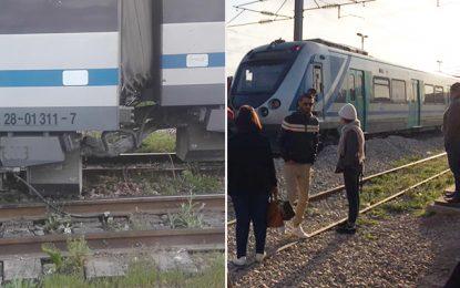 Pas de blessé dans le déraillement du wagon d'un train de la banlieue sud