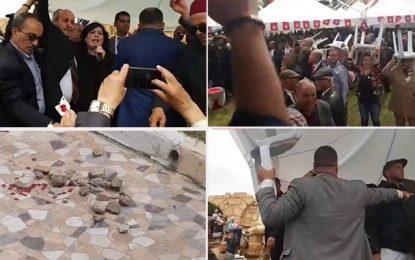 Des partis dénoncent les violences contre Abir Moussi et ses partisans