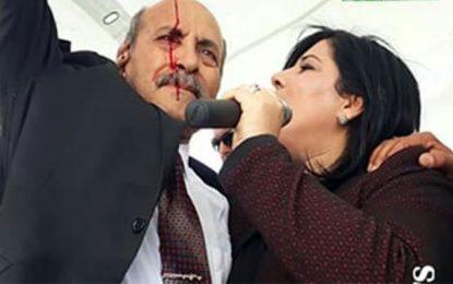 Agressée à Sidi Bouzid, la guerrière Abir Moussi s'en sortira plus forte