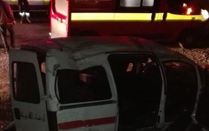 Meknassy : Un mort et 8 blessés dans un accident de la route