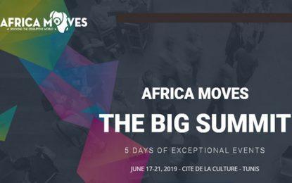 Africa Moves à Tunis du 17 au 21 juin 2019: 4 événements en 1