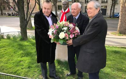 Abir Moussi bien représentée à la 19e commémoration de la mort de Bourguiba