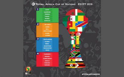 CAN 2019 : La Tunisie pourra croiser l'Algérie, la RDC ou la Côte d'Ivoire