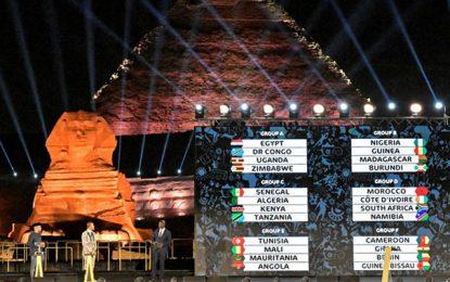 CAN 2019 : abordable pour la Tunisie et l'Egypte, dur pour le Maroc