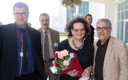 Claudia Cardinale à Djerba pour le tournage du film de Ridha Behi