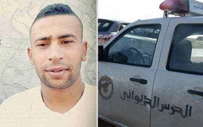 Décès d'un contrebandier dans une course poursuite : Un douanier placé en détention à Kasserine