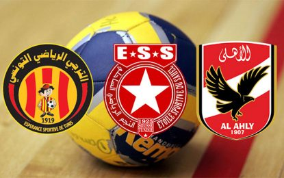 Handball : L'Etoile et l'Espérance à l'assaut d'Al Ahly