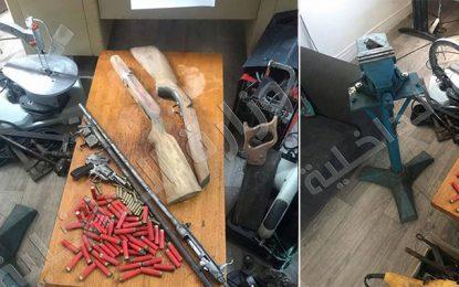 Ezzahra : Il transforme sa maison en atelier de fabrication d'armes à feu