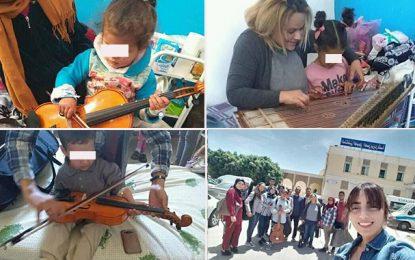 Gafsa : Des étudiants de l'Institut supérieur des arts et métiers au chevet des enfants malades