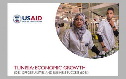 Programme américain Jobs pour impulser la création d'emplois en Tunisie