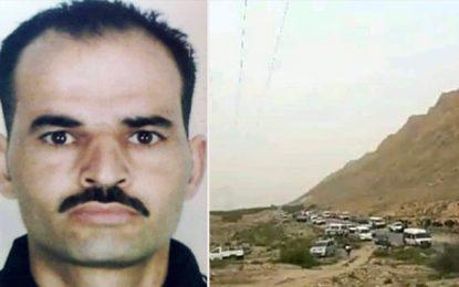 Jebel Orbata : Le corps de Mokhtar transféré à l'hôpital régional de Gabès