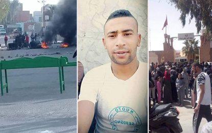 Hassi El-Frid: Protestations et routes fermées suite au décès de Badr