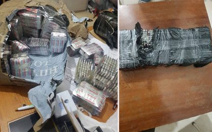 Kasserine : Saisie de 14.000 pilules de drogue dans une voiture algérienne