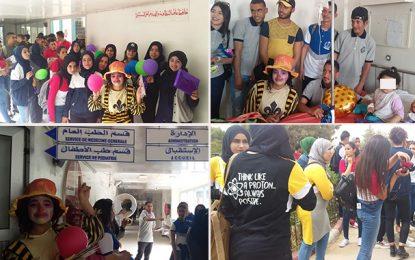 Lycée Ibn Rochd de Midoun : Des cadeaux pour les enfants malades