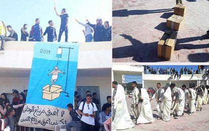 Bouhajla : Hommage aux bébés de la Rabta à la Dakhla du lycée Tahar Haddad
