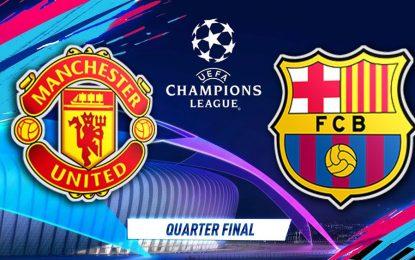 FC Barcelone-Manchester United en live streaming : Quart de fianle retour