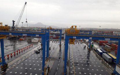 Tunisie : Activités portuaires exportatrices en hausse de 22% en 2018