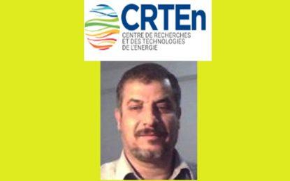 Le Pr. Radhouan Chtourou, nouveau DG du CRTEn