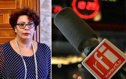 Saïda Garrach commente l'information de RFI sur les français interceptés à Ras Jedir