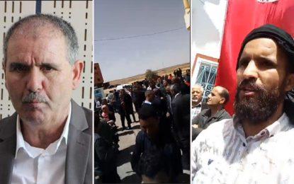Tataouine : Les jeunes d'El-Kamour se retournent contre Taboubi et le qualifient de vendu