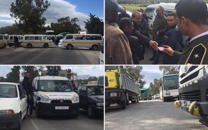 Tunisie : Réouverture progressive des routes fermées par les protestataires