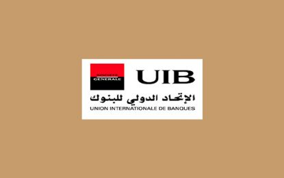 Communication financière de l'UIB le lundi 8 avril 2019
