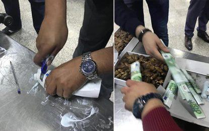 Tunis : Un Algérien en route vers la Turquie en possession de 116.000€