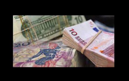 BCT : Le dinar se déprécie par rapport à l'euro et s'apprécie vis-à-vis du dollar américain