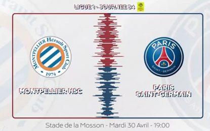 Montpellier-PSG 2019 en live streaming
