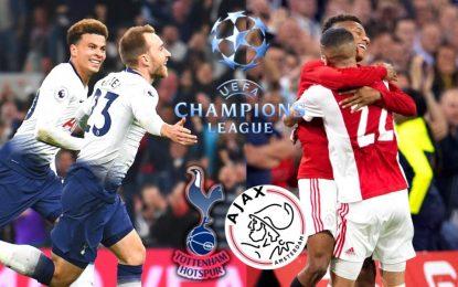 Tottenham-Ajax en live streaming : Demi finale aller