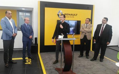 Artes ouvre une agence Renault à Sidi Hassine Sijoumi et étend son réseau