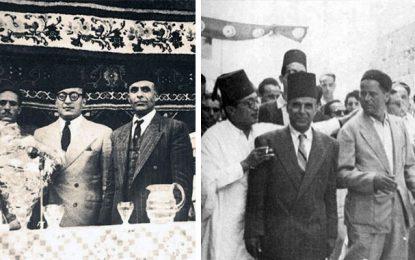 Habib Bourguiba et Salah Ben Youssef devant le tribunal de l'Histoire