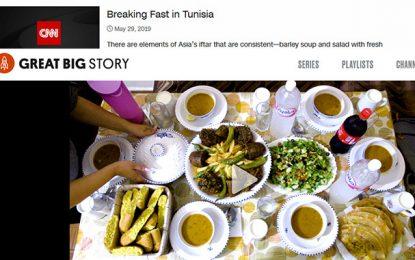 La CNN diffuse un reportage sur la rupture du jeûne de ramadan en Tunisie (Vidéo)