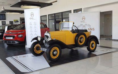 Citroën célèbre avec faste ses 100 ans de création : Un centenaire bien inspiré