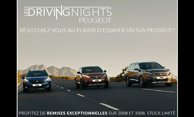 La Stafim organise les ''Driving Nights'' ramadanesques Peugeot