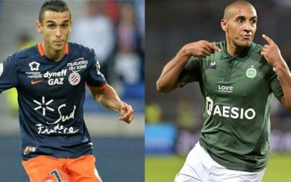 Wahbi Khazri s'éloigne de la Ligue des champions, Ellyes Skhiri s'approche de la ligue Europa