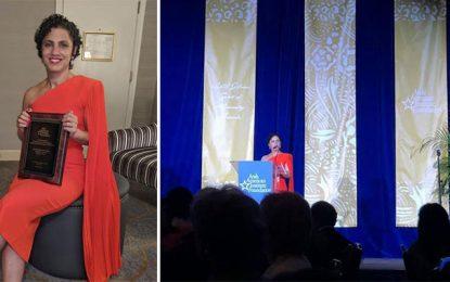 """Emel Mathlouthi primée au """"Gibran Khalil Gibran Spirit of Humanity Awards'' à Washington"""