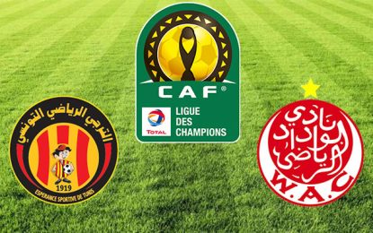 Ligue des champions: Finale aller Wydad-Espérance au stade Mohammed V  de Casablanca