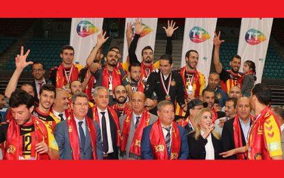 Volleyball : L'Espérance de Tunis bat l'Etoile du Sahel s'offre le 11e doublé