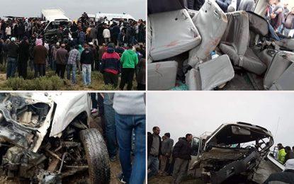 Kasserine : Deux morts et au moins 10 blessés dans un accident à Feriana