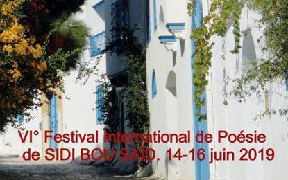 Sidi Bou Saïd : 6e édition du Festival international de poésie