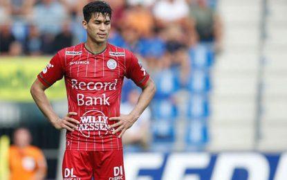 Hamdi Harbaoui : Suspendu 5 matches, il réussit un doublé et prend la tête des buteurs