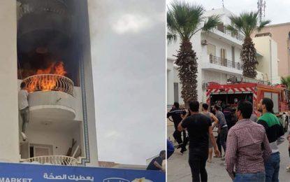 Sousse : Deux enfants décèdent dans un incendie, dans un appartement à la Corniche
