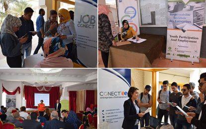 Job Conect : Mini-salons pour améliorer l'employabilité des jeunes dans les régions